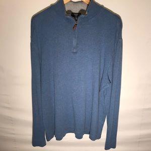 Men's Banana Republic Blue Pullover Jacket